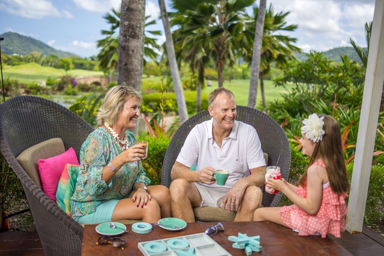 Restaurant at Paradise Palms Resort Cairns