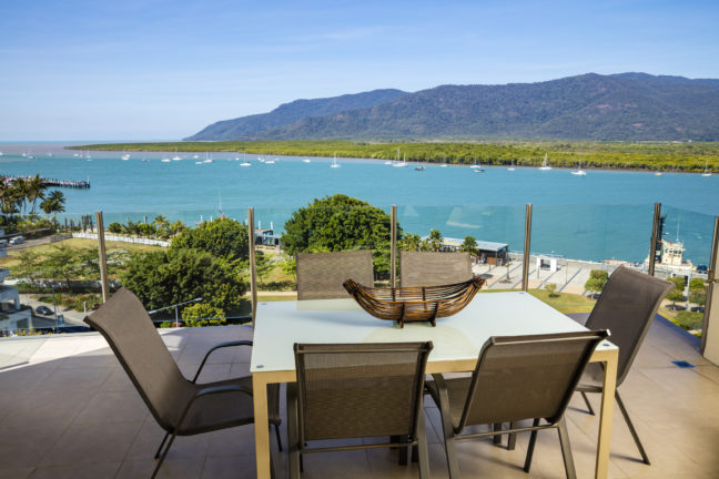 View from Jack & Newell Holiday Apartments Cairns