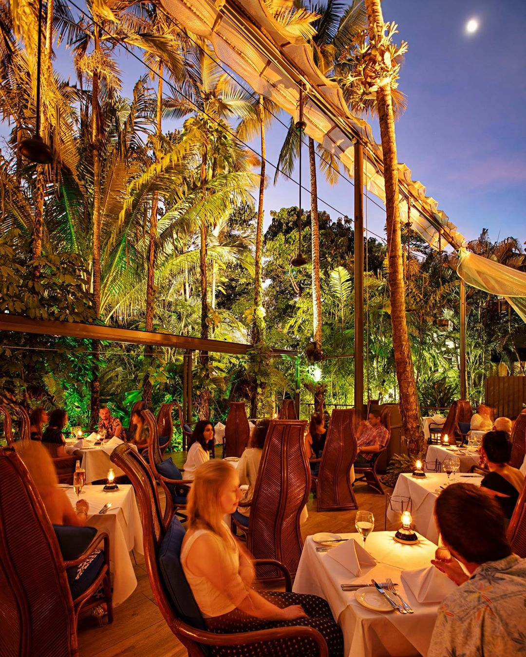 Outdoor Dining at Nautilus Port Douglas